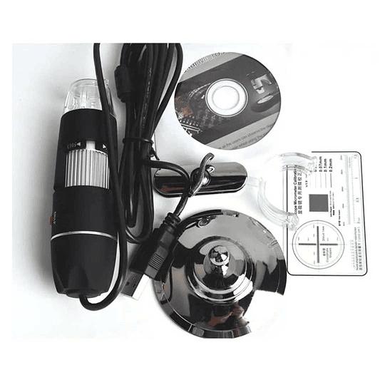 Microscopio USB Zoom 50Xa 500X Fotos y Video