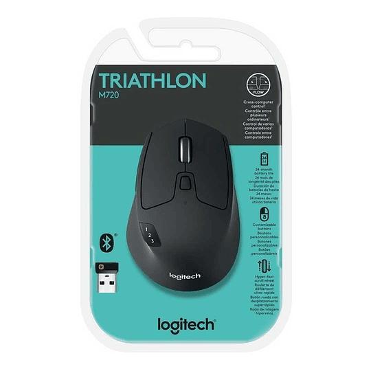 Mouse Inalámbrico Logitech M720 Triathlon