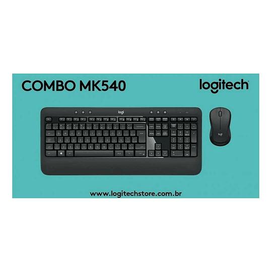 Mouse + Teclado Logitech MK540