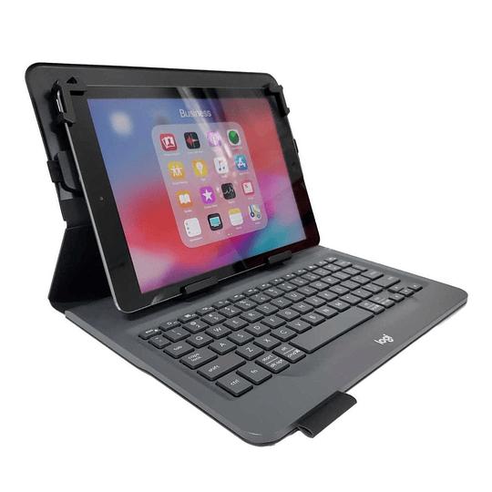 Universal Folio Con Teclado Bluetooth 3.0 Integrado