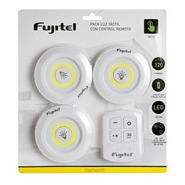 Pack Luz Led Tactil Con Control Remoto