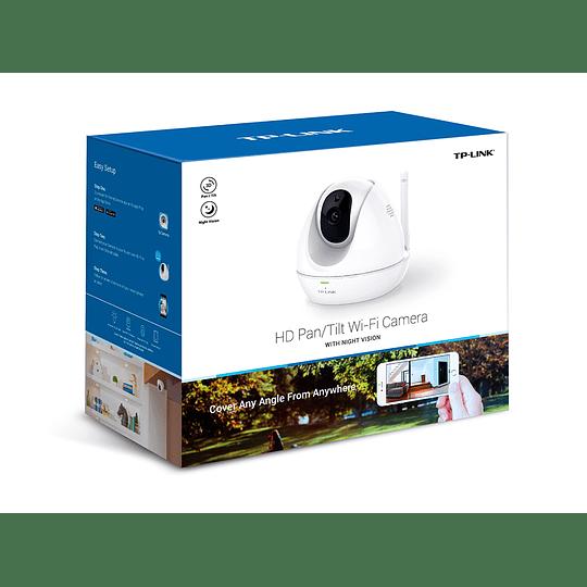 Cámara Wi-Fi HD Pan / Tilt CON VISIÓN NOCTURNA