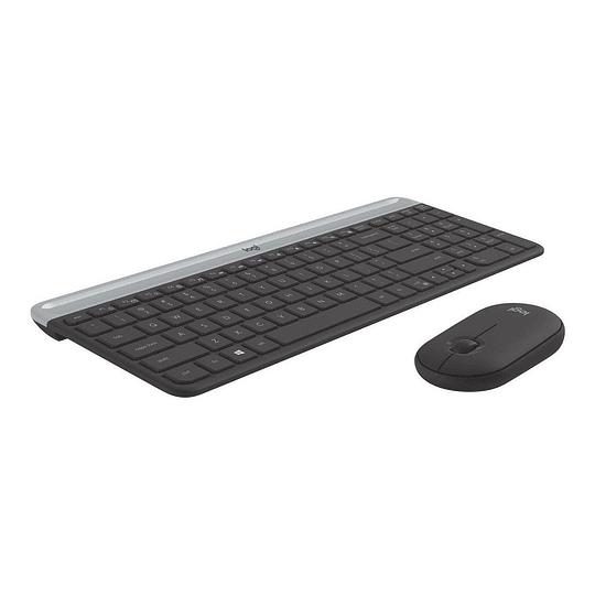 Logitech Combo Teclado + Mouse MK470 Negro