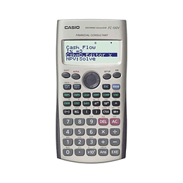 Calculadora Financiera FC-100V Casio