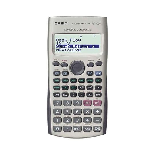Calculadora Financiera FC-100V Casio