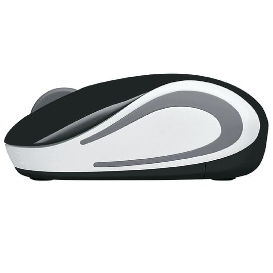 Mouse Inalámbrico Portátil Logitech M187 Negro
