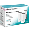 Sistema Wifi Mesh Tp-link Deco E4 Ac1200 (3-Pack)