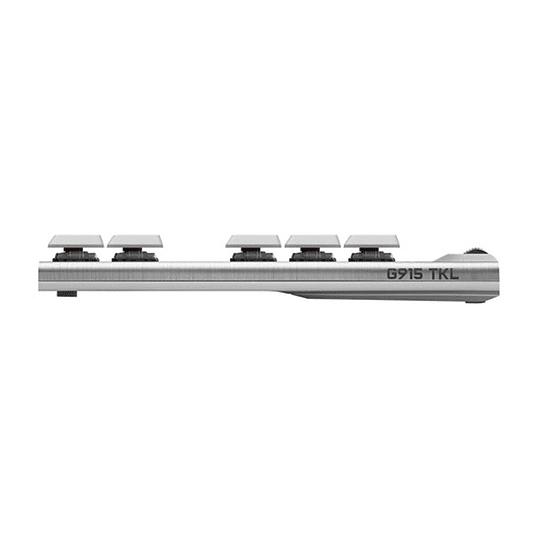 Teclado Mecanico Logitech G915 Tkl Rgb Blanco