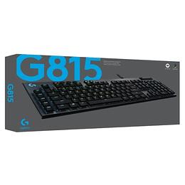 Teclado Mecanico Logitech G815 Rgb Gl-tactil