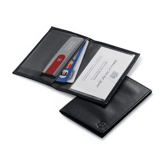 Billetera De Cuero Para Swiss Card Victorinox