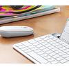 Mouse Bluetooth Logitech Pebble M350 Blanco