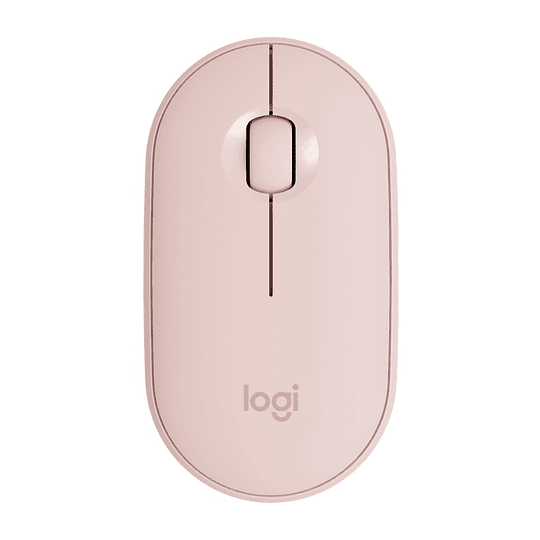 Mouse Bluetooth Logitech Pebble M350 Rosado