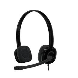 Audifono Con Microfono Logitech H151 - Electromundo