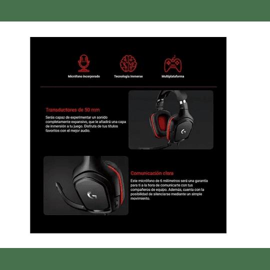 Audifonos Gamer Logitech G332 - Electromundo