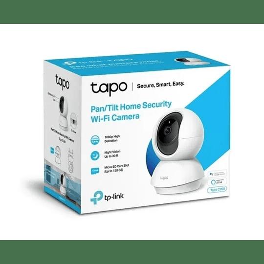 Cámara Tapo C200 Tp-link 360 Día/noche Wifi - Electromundo
