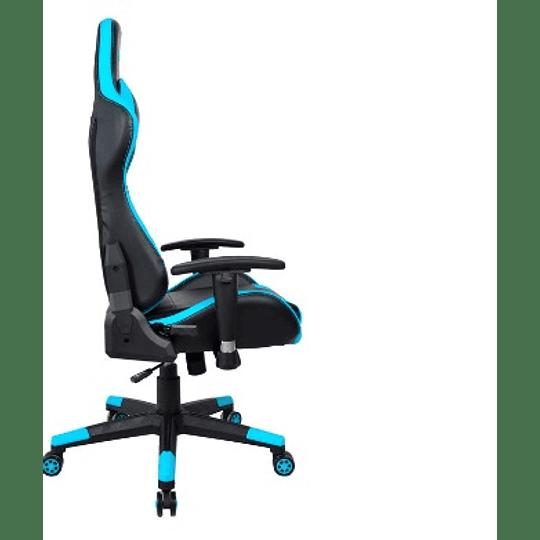 Silla Gamer Stratos 180° Azul - ElectroMundo.