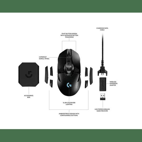 Mouse Gamer Logitech G903 Ligt Sensor Hero 16k Electromundo