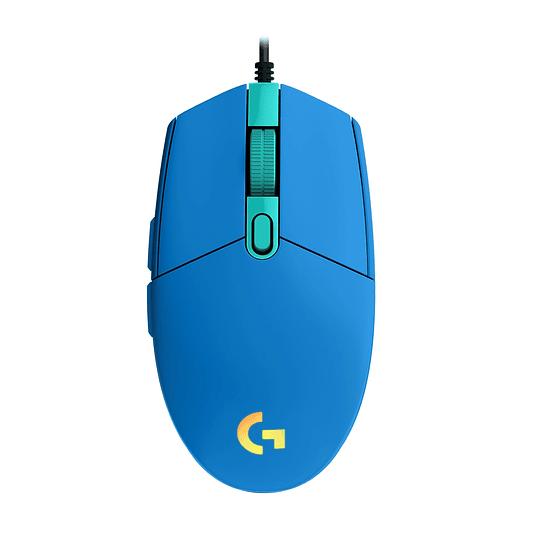 Mouse Gamer Logitech G203 Rgb Lightsync Azul