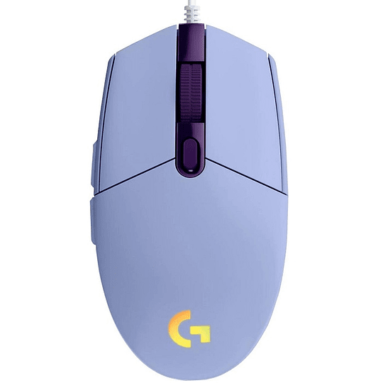 Mouse Gamer Logitech G203 Rgb Lightsync Lila