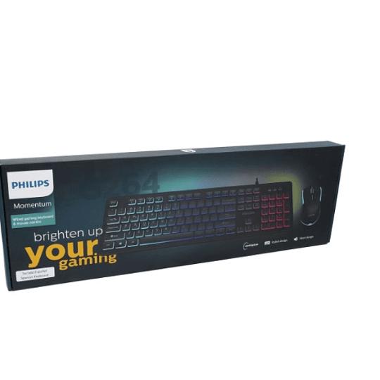 Kit Philips Teclado Y Mouse Gamer Spt8264 - ElectroMundo