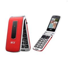 Celular Senior 3G Tipo Almeja IRT - ElectroMundo