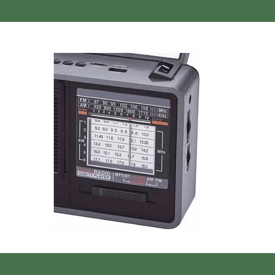 Radio Solar Recargable Con Lampara Irt/rmf