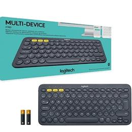 Teclado Bluetooth Logitech K380 Negro - Electromundo