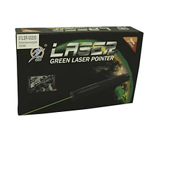 Puntero Laser Verde 100 MW Recargable 00200 - ElectroMundo.