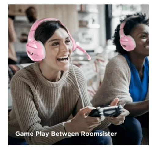 Audífonos Gamers Onikuma K5 Cancelación De Ruido - Rosa