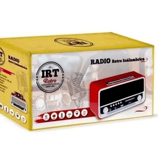 Radio Irt Retro 06 Inálambrico Bt,fm,am,usb - Electromundo.