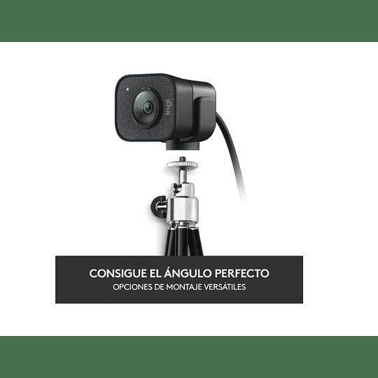 Webcam Logitech Streamcam Plus Usb-c Full Hd- Electromundo