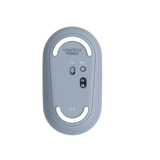 Mouse Bluetooth Logitech Pebble M350 Gris - Electromundo