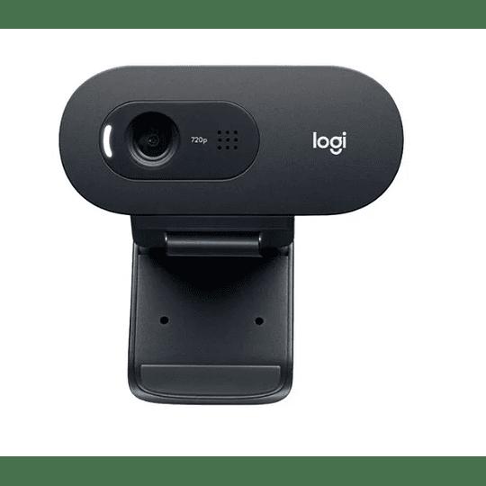 Cámara Webcam Hd Con Micrófono Logitech C505 - Electromundo