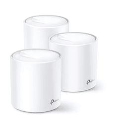Sistema Wifi 6 Mesh Tplink Deco X20 Ax1800 (x3) Electromundo