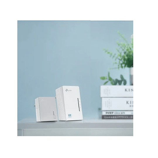 Kit Powerline Wifi Av600 Tp-link Tl-wpa4220kit Electromundo