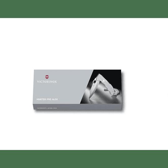 Navaja Victorinox Hunter Pro Alox Color Plata - Electromundo