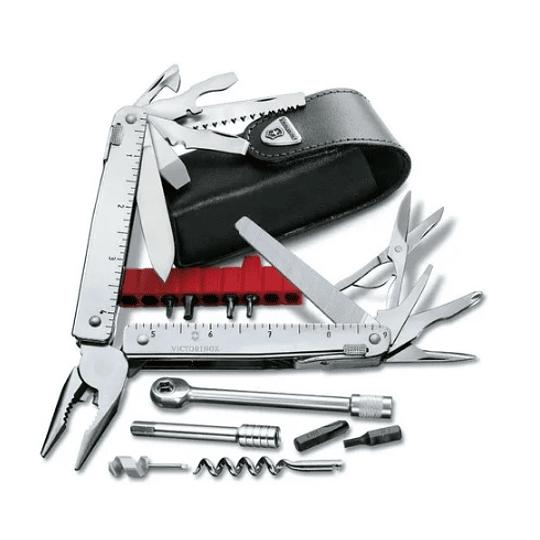 Navaja Victorinox Swiss Tool Ratchet Plata Electromundo