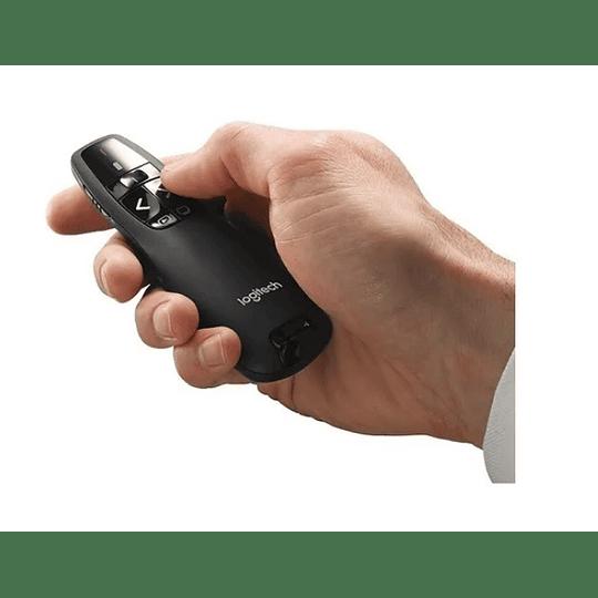 Presentador Inalambrico Laser Logitech R400 - Electromundo