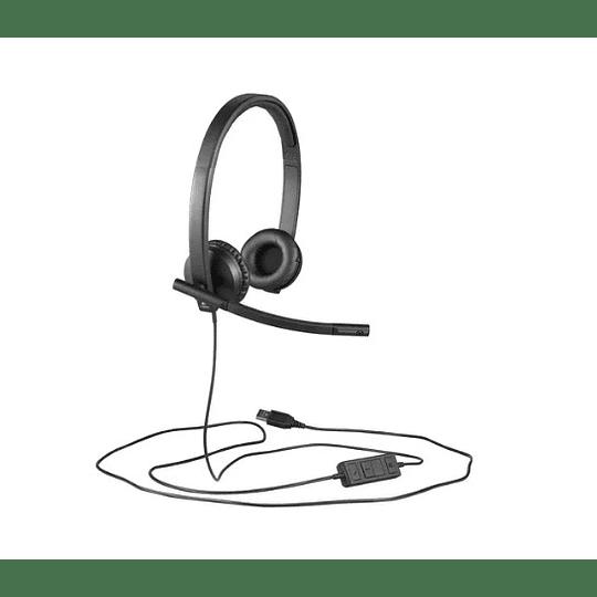Audifono Logitech H570s Stereo, Microfono - Electromundo