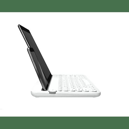 Teclado Bluetooth Logitech K480 Blanco Esp. - Electromundo