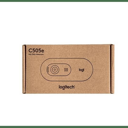 Cámara Webcam Hd Con Micrófono Logitech C505e - Electromundo