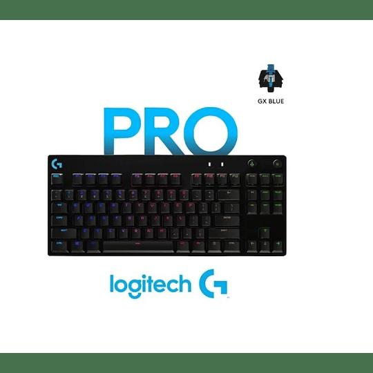 Teclado Gamer Mecánico Logitech G Pro / Gx Blue Electromundo
