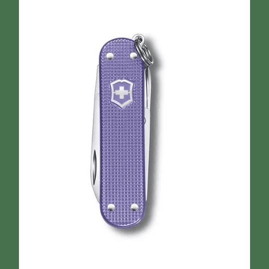 Navaja Victorinox Electric Lavender 58mm. Electromundo