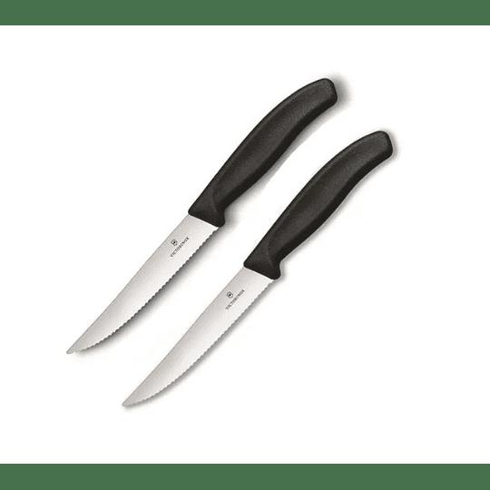 Cuchillo Victorinox X2 Cocina Negro. Hoja 12- Electromundo