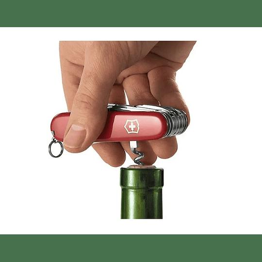 Navaja Victorinox Deluxe Tinker Color Rojo - Electromundo
