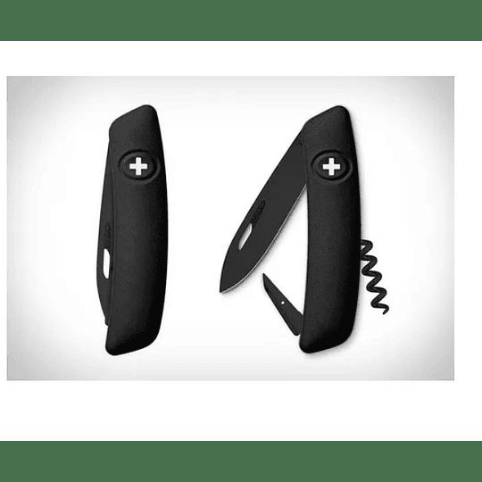 Navaja Swiza D01 All Black 95mm. - Electromundo