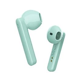 Audífonos Bluetooth Trust Primo Touch Menta - ElectroMundo.