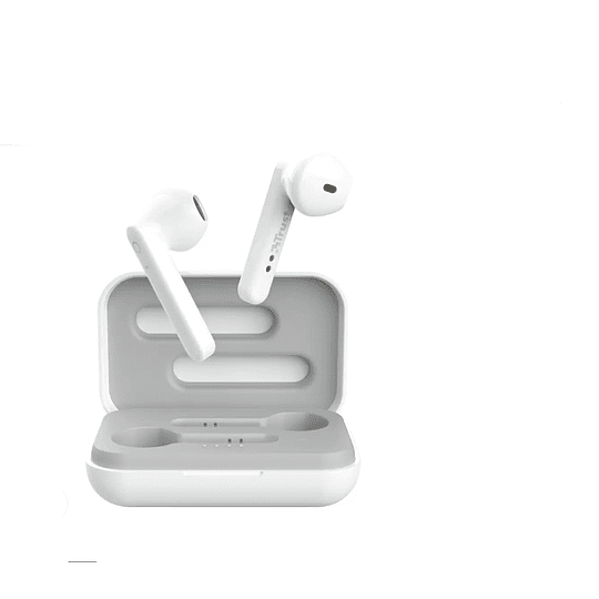 Audífonos Bluetooth Trust Primo Blanco - ElectroMundo.