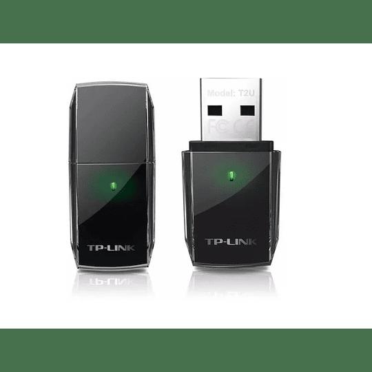 Adaptador Usb Wifi Archer T2u Ac600 Dual Band 600mbp Tp-link
