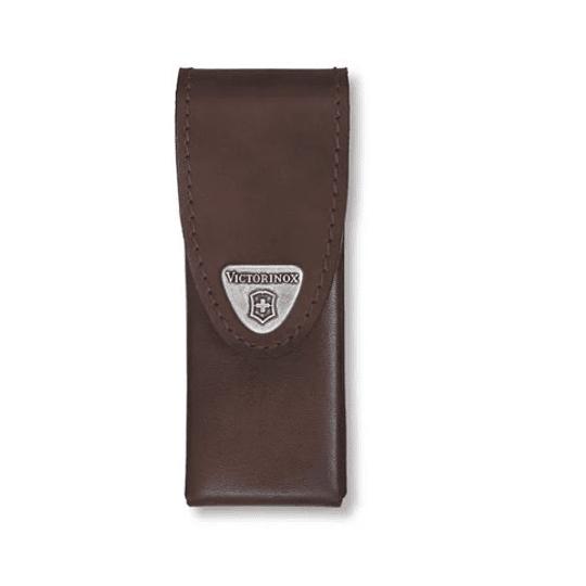 Estuche Victorinox 33 Cuero Café 111mm. - Electromundo